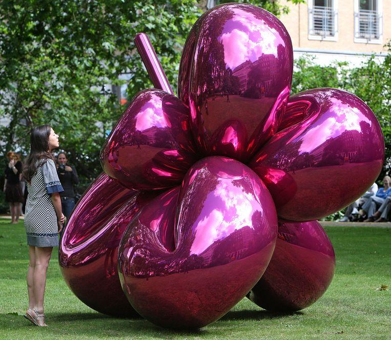 Kunstenaar: Jeff Koons. 'Ik vind het mooi, het is grappig, vooral zijn werk met ballonnen.' Beeld Cate Gillon / Getty