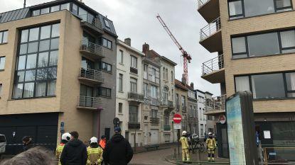 Torenkraan dreigt om te vallen in Blankenberge: rampenplan afgeblazen