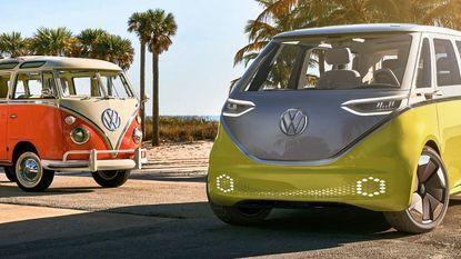 Het iconische Volkswagenbusje krijgt een complete make-over (en wordt elektrisch)