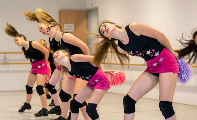 Dansschool Body Action in actie in Omnium in Goes.