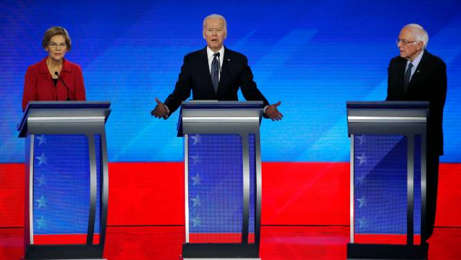 Hét dilemma voor Joe Biden: geeft hij Elizabeth Warren en Bernie Sanders een ministerpost?