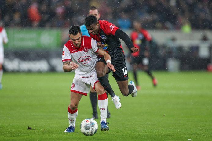 Javairô Dilrosun in actie tegen Fortuna Düsseldorf
