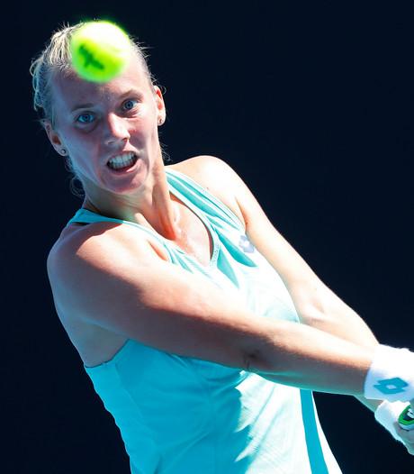 Hogenkamp kansloos onderuit in eerste ronde Australian Open