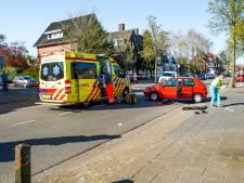 Motorrijder gewond na botsing met auto in Eindhoven