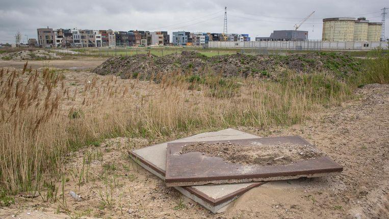 Ook op Zeeburgereiland bouwt de gemeente aan nieuwe schoolgebouwen Beeld Floris Lok