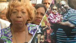 """Moeder Eric Garner reageert op ontslag van agent die haar zoon doodde: """"Jij bent je job kwijt, ik mijn zoon"""""""