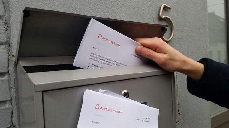 Alle Schelse gezinnen ontvingen reeds een brief van Hoplr.