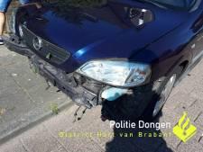 Dronken automobilist veroorzaakt ongeluk en rijdt slingerend door in Dongen