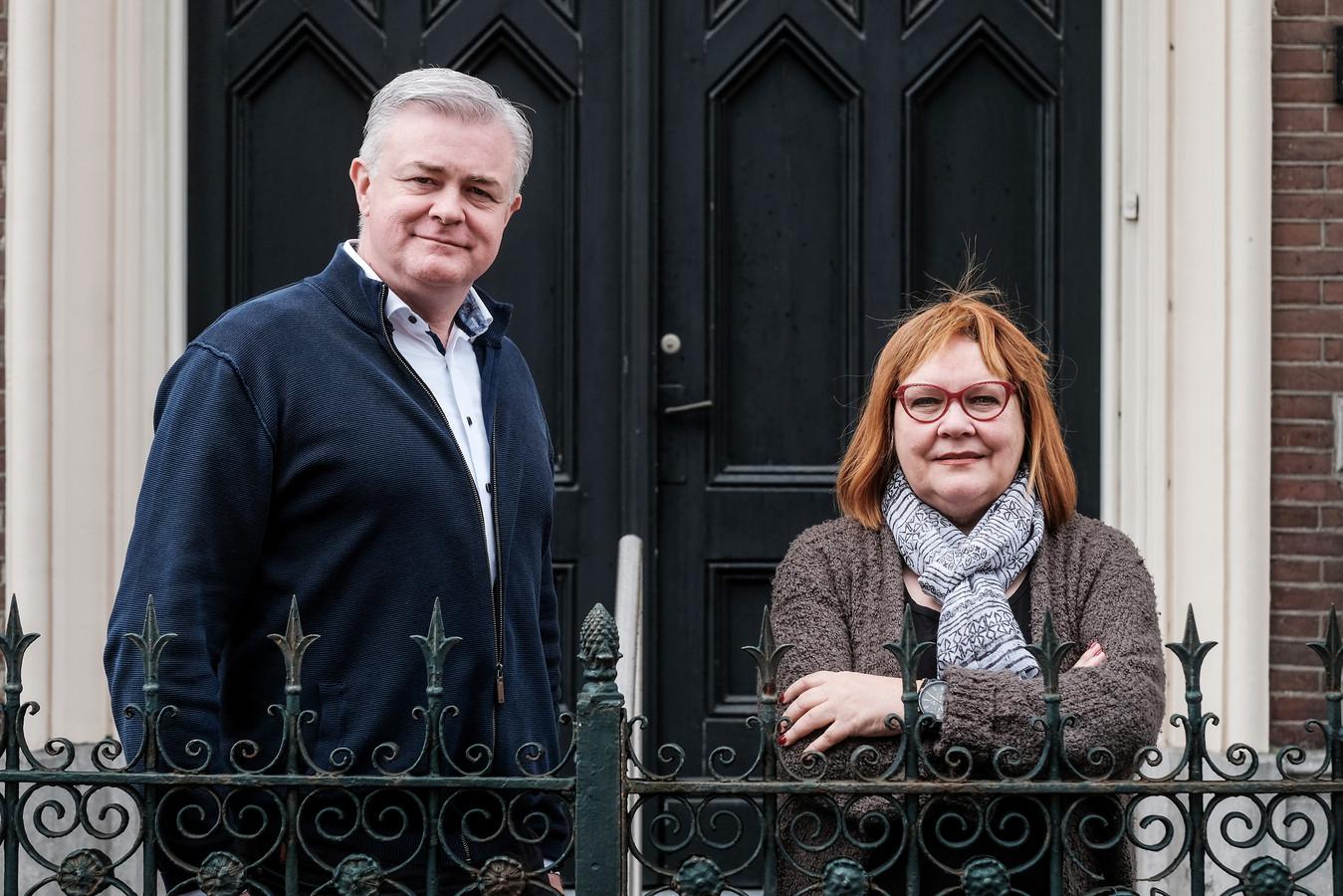 Dick Sein en Marga Rutjes, bestuursleden van Het Nieuwe Dijkhuis. Foto: Jan van den Brink