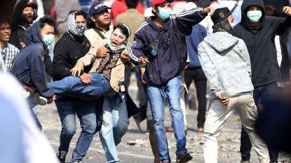 Zes doden en tweehonderd gewonden bij protesten in Jakarta tegen herverkiezing Joko Widodo