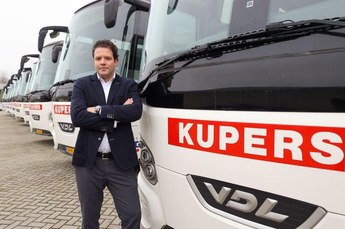 Bert Fonteijn, directeur van Kupers Touringcars.