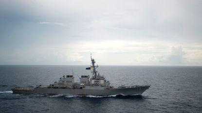 Chinees oorlogsschip op ramkoers met Amerikaans marineschip