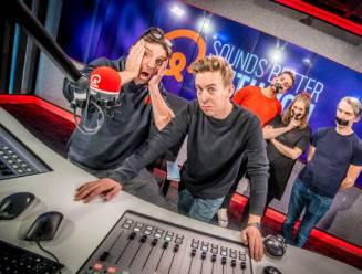 Zo beleefden Koen Wauters en Jonas Van Geel hun vuurdoop als radiostem op Qmusic