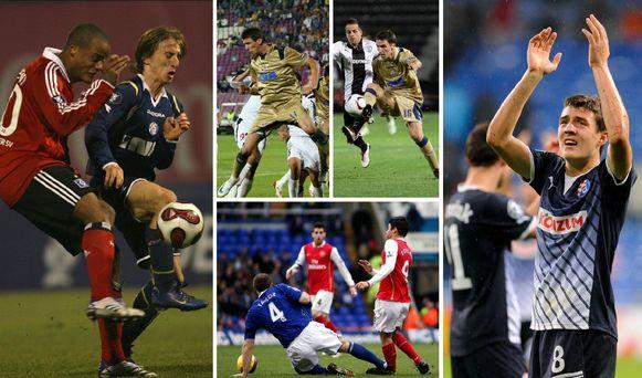 Modric, Mandzukic, Badelj, Eduardo en Kovacic passeerden allemaal langs Dinamo Zagreb.