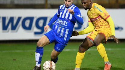 """Guerschom Mafete Luyeye debuteert in basis bij FC Duffel met gelijkspel: """"De club helpen om de nul te houden"""""""