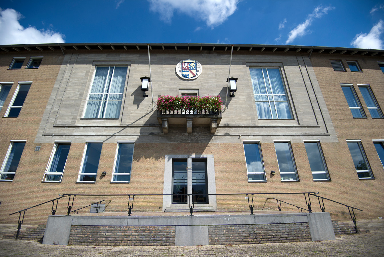 Het Renkumse gemeentehuis in Oosterbeek.
