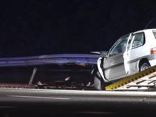 Gewonde bij eenzijdig ongeval op A1 ter hoogte van Hengelo