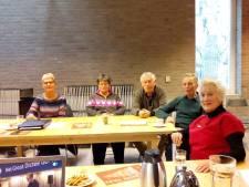 Bibliotheek in Vlijmen decor van Het Groot Dictee der Nederlandse Taal