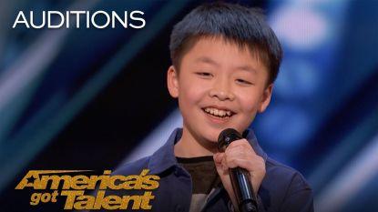 VIDEO: Simon Cowell koopt hond voor jonge 'America's Got Talent'-deelnemer