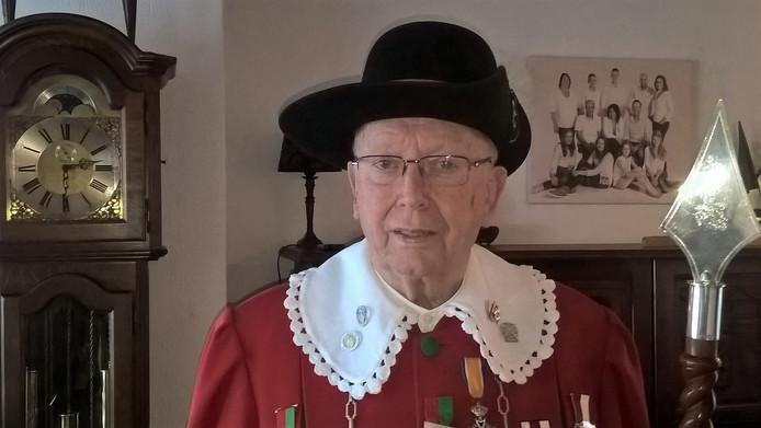 Jubilaris Henk van Helvoirt.