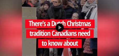Canadezen diep onder de indruk van Nederlands kerstgebruik