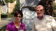 Amerikaanse vrouw bezoekt Moerbeekse familie