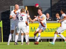 De Treffers in één helft weggespeeld door Katwijk