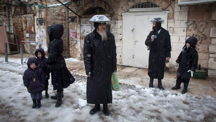Orthodoxe joden in Jeruzalem