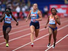 Schippers zesde op 100 meter op Diamond League in Birmingham