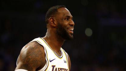 LeBron James schittert in NBA, Golden State zit nog wat dieper in de put