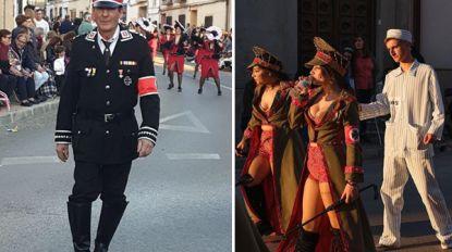 Controverse kan nog erger dan op Aalst Carnaval: Spaanse stoet zwaar onder vuur voor nazikostuums