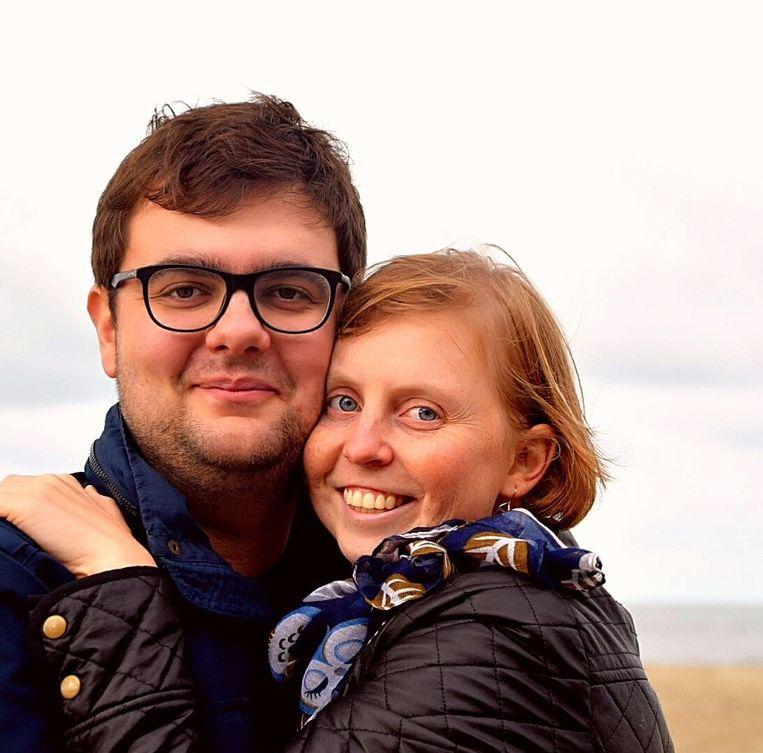 Evi Degrande en haar vriend Stijn Vereecke