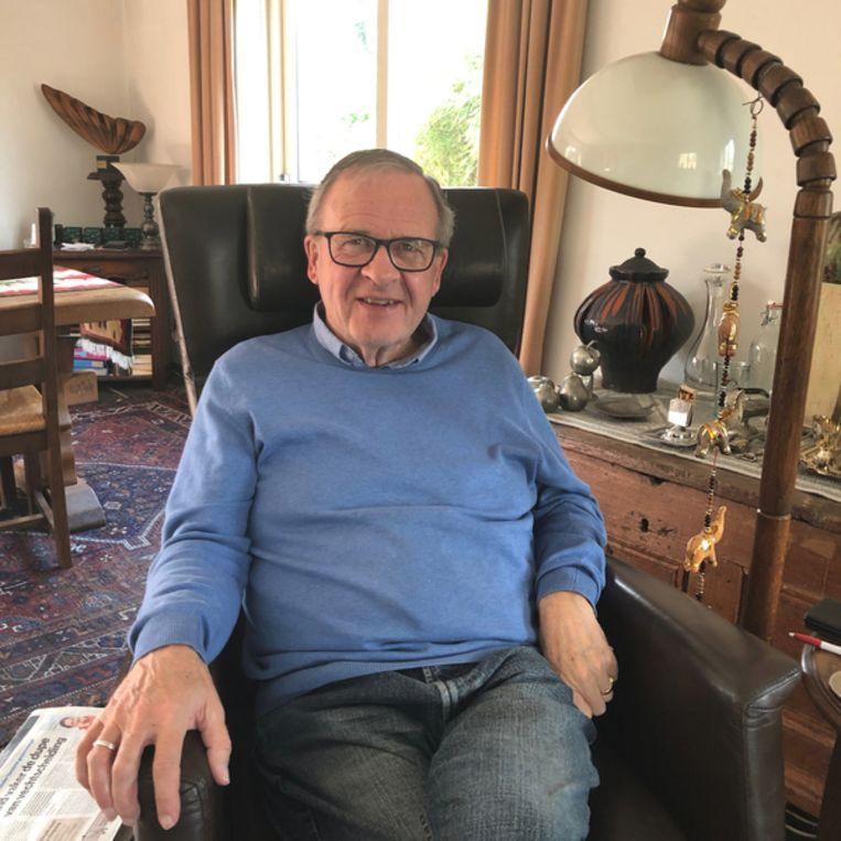 Henk Zomerdijk, voorzitter. Beeld