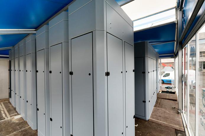 luchtzuiverings installatie op stadhuisplein Eindhoven