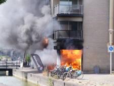 Grote brand bij Domino's Pizza Houten richt ravage aan: bewoners kunnen niet terug naar huis