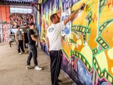 Graffitiloods aan Havendijk wordt straks 'creative lab'