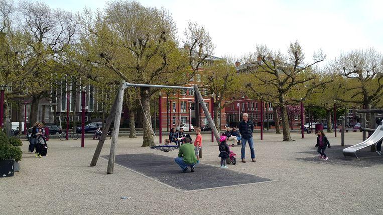 Een speeltuin in Amsterdam. Beeld Shutterstock