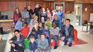 Kinderen spijkeren Nederlands bij op taalkamp in Blokbos