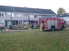Woningbrand in Raalte, bewoner weigert brandweer binnen te laten