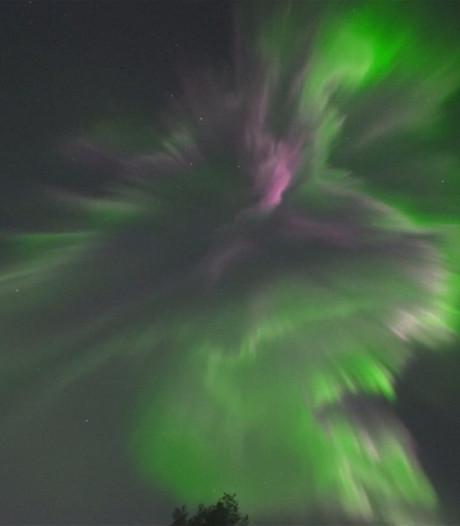 Prachtige beelden van zeer goed zichtbaar noorderlicht