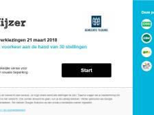 Tilburgse politiek baalt van overkill stemwijzers: 'Het wordt een ondoorzichtig bos'