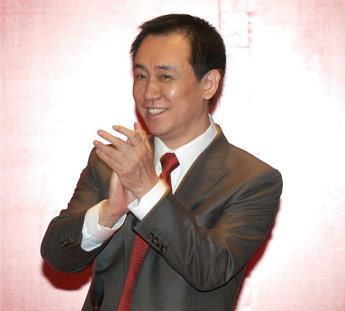 De rijkste Chinees van dit moment: Xu Jiayin, eigenaar van Evergrande.