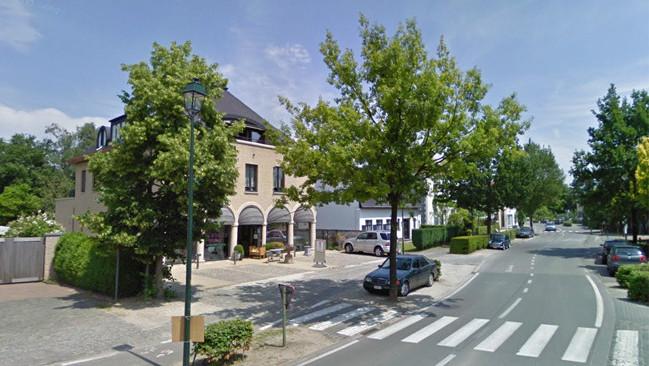 Une rue de Laethem-Saint-Martin