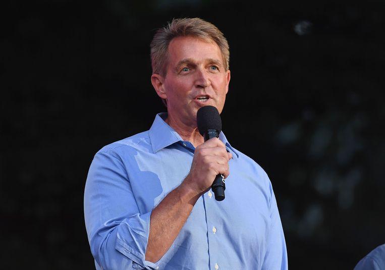 Jeff Flake, een Republikeinse senator uit Arizona.