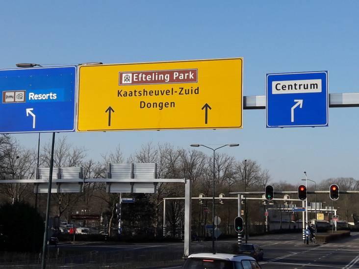 Wisselstroken op Europalaan richting Efteling pas eind dit jaar open