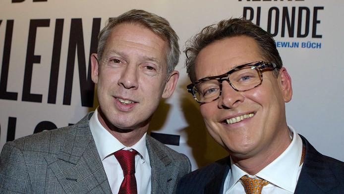 Onno Hoes en echtgenoot Albert Verlinde.