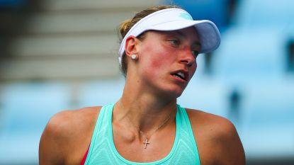 Yanina Wickmayer sneuvelt in halve finales Zhengzhou