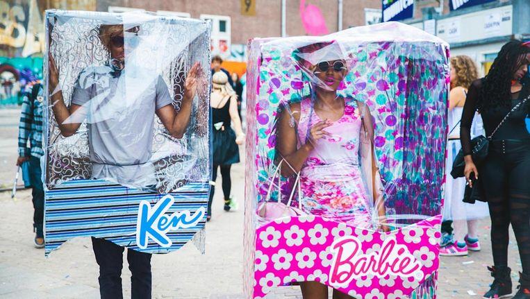 Op Valtifest zijn de meeste bijzondere outfits te bewonderen Beeld -