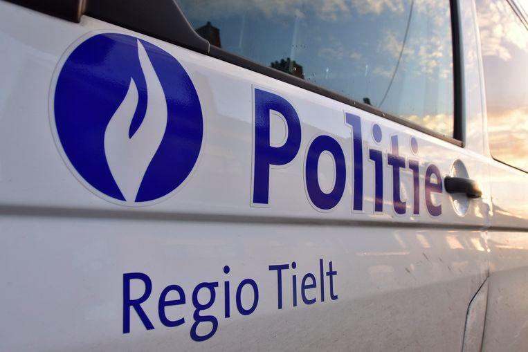 De politie van de zone Regio Tielt deed vaststellingen van het ongeval.