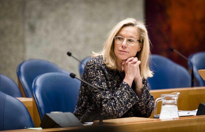 Minister Sigrid Kaag voor Buitenlandse Handel en Ontwikkelingssamenwerking (D66)